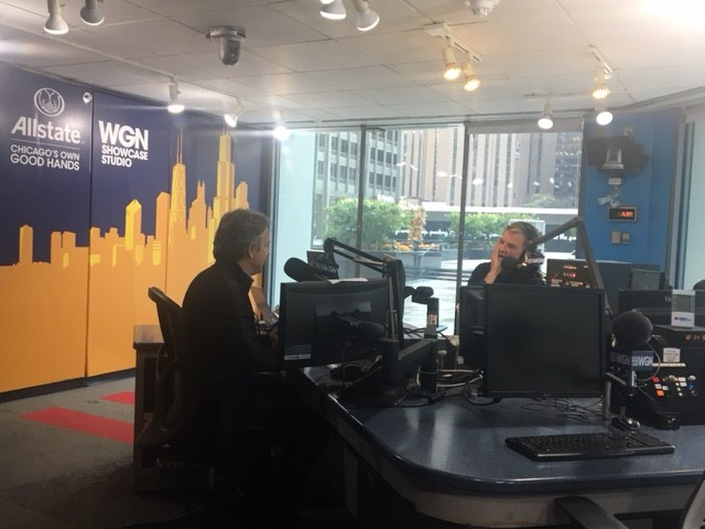Jason Hanold at WGN